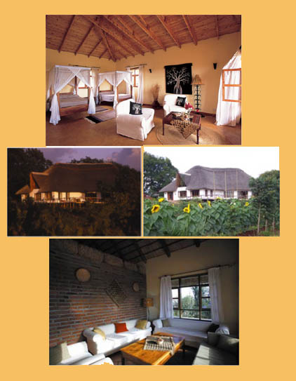 Ngorongoro Farmhouse near the crater in Tanzania