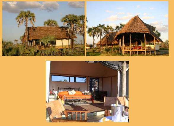 Pictures of the Maramboi Tented Camp