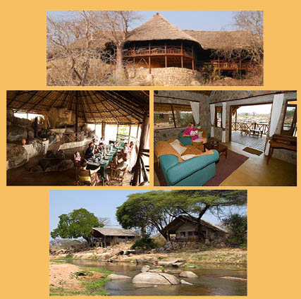 pictures of the Ruaha River lodge