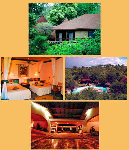 Pictures of the Tarangire Sopa Lodge