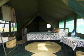 your home away from home camping African style